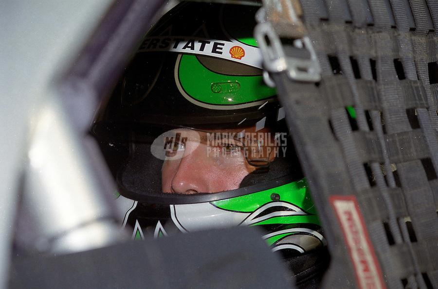 Jul. 19, 1998; Fontana, CA, USA; NASCAR Busch Series driver J.D. Gibbs during the Kenwood 300 at California Speedway. Mandatory Credit: Mark J. Rebilas-