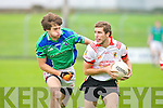East Kerry's Damien O'Sullivan and Dingle's Matthew Ó Guiheen.