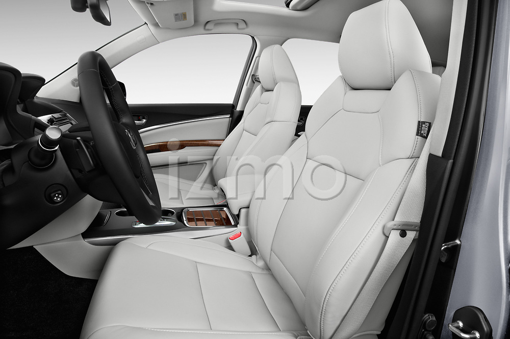 Front seat view of a 2020 Acura MDX Standard 5 Door SUV front seat car photos