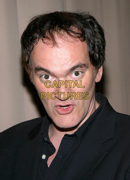 QUENTIN TARANTINO.Miramax , Coors Light, AMC & Glamour Magazine present the 2005 Golden Globes After Party held Trader Vic's in the Beverly Hilton Hotel, Beverly Hills, California, USA, 16 January 2005..portrait headshot.Ref: ADM.www.capitalpictures.com.sales@capitalpictures.com.©Jacqui Wong/AdMedia/Capital Pictures .