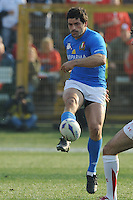 Andrea Masi (Italia)<br /> Italia vs Galles<br /> RBS 6 Nations Rugby Championship 2011<br /> Stadio Flaminio;<br /> Roma, 26/02/2011<br /> Photo Antonietta Baldassarre Insidefoto
