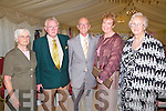Pictured at the Gala dinner in the Royal Hotel on Saturday night last were l-r; Margaret O'Shae, Pat O'Shae, Mortimer Moriarty, Orla Hoey & Mary O'Reilly.