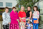 l-r Joan Trant, Noreen Sayers, Catriona Sayers, Marguerite Trant and Aine Wall. at Fashion Soirée Ladies Day Fashion and Autumn Winter 2015 Collection In aid of Kerry Cancer Support Group at Manor West Hotel on Friday