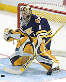 Frank McLaughlin - Boston College defeated Merrimack College 3-0 with Tim Filangieri's first two collegiate goals on November 26, 2005 at Kelley Rink/Conte Forum in Chestnut Hill, MA.