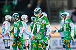 Stockholm 2014-03-01 Bandy SM-semifinal 1 Hammarby IF - V&auml;ster&aring;s SK :  <br /> Hammarbys Robert Rimg&aring;rd deppar efter matchen<br /> (Foto: Kenta J&ouml;nsson) Nyckelord:  VSK Bajen HIF depp besviken besvikelse sorg ledsen deppig nedst&auml;md uppgiven sad disappointment disappointed dejected