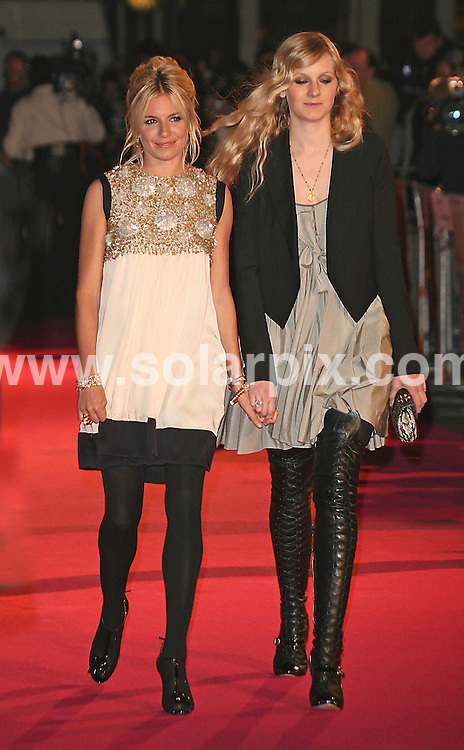 **ALL ROUND PICTURES FROM SOLARPIX.COM**.**WORLDWIDE SYNDICATION RIGHTS**.Sienna and Savannah Miller attends the UK premiere of Factory Girl at Vue cinema, Leicester square, London...JOB REF:  3532     SSD     DATE: 13.03.07.**MUST CREDIT SOLARPIX.COM OR DOUBLE FEE WILL BE CHARGED* *UNDER NO CIRCUMSTANCES IS THIS IMAGE TO BE REPRODUCED FOR ANY ONLINE EDITION WITHOUT PRIOR PERMISSION*
