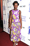 Lupita Nyong'o - Eclipsed received award - 72nd Annual Theatre World Awards hosted by Peter Filichia at Circle in the Square Theatre on May 23, 1916 in New York City, New York. (Photo by Sue Coflin/Max Photos)