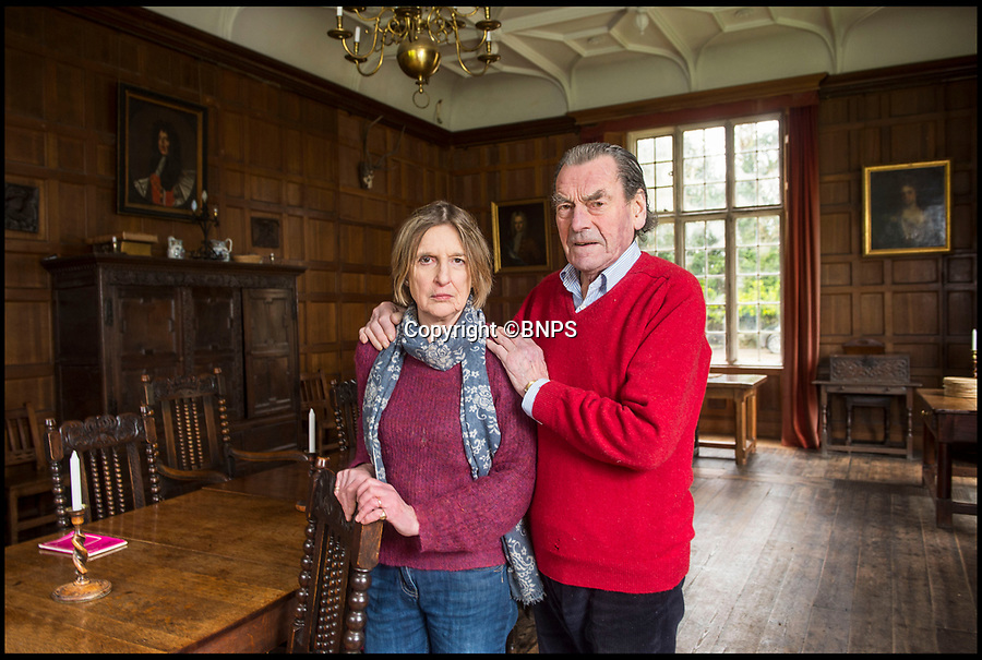 BNPS.co.uk (01202 558833)<br /> Pic: PhilYeomans/BNPS<br /> <br /> Capt Nigel Thimbleby with his wife Katharine in historic Wolfeton House.<br /> <br /> Downton Abbey writer Lord Julian Fellowes has joined the madding crowd and spoken out against plans to build a housing estate next to a country manor that inspired author Thomas Hardy.<br /> <br /> Lord Fellowes, who is president of the Hardy Society, has written to planners to object to the proposed 120 home development that will be just 200 yards from Wolfeton House near Dorchester, Dorset.<br /> <br /> The historic house once belonged to the Trenchard family whose name provided inspiration for the flawed character Michael Henchard in Hardy's Mayor of Casterbridge novel.<br /> <br /> Lord Fellowes said he could not 'stay silent' any longer when Hardy's heritage 'is under threat'. He added the development would 'destroy a major element in Hardy's story'.