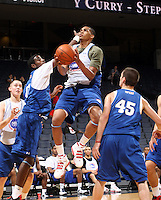 LaQuinton Ross at the NBPA Top100 camp June 18, 2010 at the John Paul Jones Arena in Charlottesville, VA. Visit www.nbpatop100.blogspot.com for more photos. (Photo © Andrew Shurtleff)