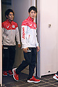 (L-R) Ryohei Kato, Kohei Uchimura (JPN), <br /> JULY 19, 2016 - Artistic Gymnastics : <br /> Japan Men's Artistic Gymnastics national team send-off press conference <br /> for the Rio 2016 Olympic Games in Tokyo, Japan. <br /> (Photo by AFLO SPORT)
