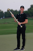 Danny Willett (ENG) winner of the DP World Tour Championship, Jumeirah Golf Estates, Dubai, United Arab Emirates. 18/11/2018<br /> Picture: Golffile | Fran Caffrey<br /> <br /> <br /> All photo usage must carry mandatory copyright credit (© Golffile | Fran Caffrey)