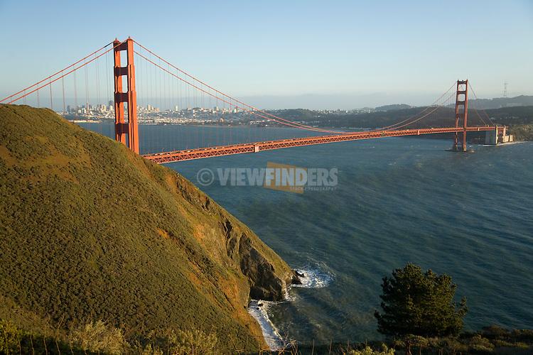 The Golden Gate Bridge, California