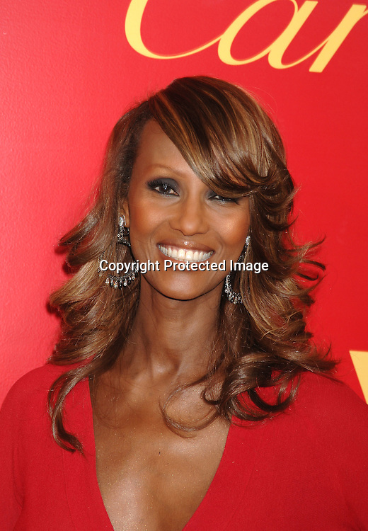 Iman..arriving at The Cartier and Interview Magazine Party ..for the new Charity Love Bracelet on June 8, 2006 at ..The Cartier Mansion. ..Robin Platzer, Twin Images