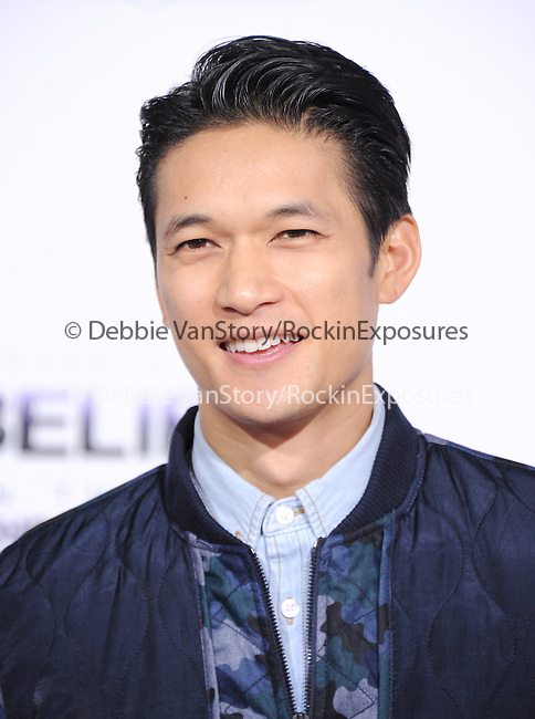 LOS ANGELES, CA - December 18: Harry Shum arrives at Justin Bieber`s Believe World Premiere held at The Premiere House at Regal Cinemas L.A. Live in Los Angeles, California on December 18,2013                                                                               © 2013 Hollywood Press Agency