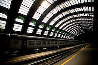 Central Train Station, Milano, Italy, Europe, 2007, ©Stephen Blake Farrington