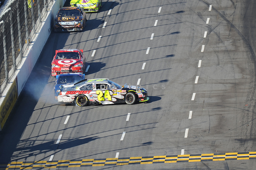 JEFF GORDON, in action during The NASCAR TUMS FAST RELIEF 500 at Martinsville, VA on Sunday, October 24, 2010. Denny Hamlin would win the race, Mark Martin finished second and Kevin Harvick would finsih third.