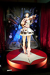 Macross, May 1st 2012, Tokyo, Japan -  Life-size Lynn Minmay. Macross was a popular science fiction animation series that started in 1982. The 30th Anniversary of Macross exposition was held at Sunshine City in the Ikebukuro Ward of Tokyo.