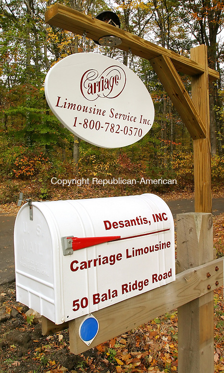 OXFORD, CT. 28  October  2005-102805SV02--Carriage Limousine Service Inc. of Oxford has more than 800 alleged violations against it.<br /> Steven Valenti  Republican-American