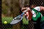 2018-05-12 HS: Saint Johnsbury at Burlington Ladies Tennis