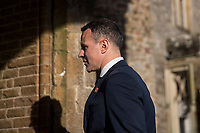 Ryan Giggs returns to Hensol Castle after a photo call unveiled him as the new Wales National team Manager at Hensol Castle, Vale of Glamoran, on 15 January 2018. Photo by Mark Hawkins.