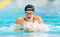 Picture by Allan McKenzie/SWpix.com - 13/12/2017 - Swimming - Swim England Winter Championships - Ponds Forge International Sport Centre - Sheffield, England - Imogen Clark races to gold in the womens open 50m breaststroke final.