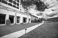 ad Agra, sopra Lugano in Canton Ticino, &egrave; da pochii mesi aperto il lussuoso Resort &quot;Collina d'Oro&quot;, nato sui resti di quello che fu il &quot;sanatorio nazista&quot; durante i primi decenni del secolo scorso.<br /> Agra, above Lugano in Canton Ticino, is open for a few months the luxurious resort &quot;Golden Hill&quot;,&quot;Collina d'Oro, born on the ruins of what was once the &quot;sanatorium Nazi&quot; during the early decades of the last century.