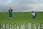 18th hole Tralee golf club Sylvester Hennessy and ?.   Copyright Kerry's Eye 2008
