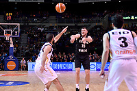 New Zealand Tall Blacks&rsquo; Tom Vodanovich in action during the FIBA World Cup Basketball Qualifier - NZ Tall Blacks v Jordan at Horncastle Arena, Christchurch, New Zealand on Thursday 29 November  2018. <br /> Photo by Masanori Udagawa. <br /> www.photowellington.photoshelter.com