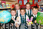 SCIENTISTS: Pupils from Aghatubrid National School in South Kerry who were part of the Schools Science Team that will be presented with their 2007 Discover Primary Schools Science Award for Science Excellence in Cork next week..Front L/r. Cian Walsh, Caoimhe Teehan, Blaine McCarthy..Back L/r. Sara Jane O'Shea and Ciara Sugrue..