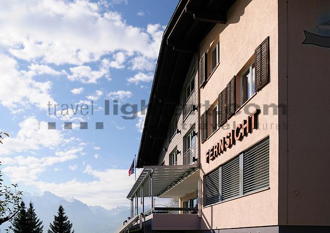 Restaurant, Hotel Fernsicht in Eschen, für neue Broschüre fotografiert. Foto: Paul Trummer / Mauren.