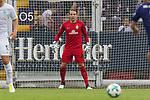 16.07.2017, Stadion an der Bremer Bruecke, Osnabrueck, GER, FSP VfL Osnabrueck vs SV Werder Bremen<br /> <br /> im Bild<br /> Luca Plogmann (Werder Bremen U19) im Tor, <br /> <br /> Foto &copy; nordphoto / Ewert