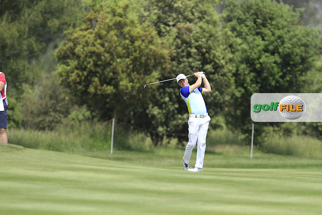 during Round 1 of the Open de Espana  in Club de Golf el Prat, Barcelona on Thursday 14th May 2015.<br /> Picture:  Thos Caffrey / www.golffile.ie