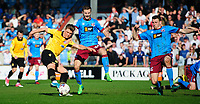 Bolton Wanderers' Max Clayton vies for possession with Scunthorpe United's Jamie Ness<br /> <br /> Photographer Chris Vaughan/CameraSport<br /> <br /> The EFL Sky Bet League One - Scunthorpe United v Bolton Wanderers - Saturday 8th April 2017 - Glanford Park - Scunthorpe<br /> <br /> World Copyright &copy; 2017 CameraSport. All rights reserved. 43 Linden Ave. Countesthorpe. Leicester. England. LE8 5PG - Tel: +44 (0) 116 277 4147 - admin@camerasport.com - www.camerasport.com