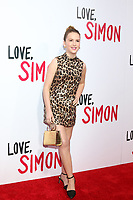 "LOS ANGELES - MAR 13:  Talitha Bateman at the ""Love, Simon"" Special Screening at Westfield Century City Mall Atrium on March 13, 2018 in Century City, CA"