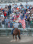 The grand entrance during the Smackdown Tour Bull Riding event at Fuji Park in Carson City, Nev., on Saturday, June 7, 2014.<br /> Photo by Cathleen Allison
