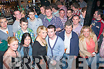 21 hugs: Tommy McCarthy,Churchhill(standing centre)celebrated his 21st birthday last Saturday night in his dad's bar,Paddymac's,The Mall,Tralee with many family and friends.
