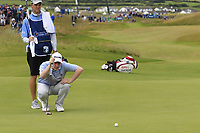 Robert MacIntyre (SCO) on the 17th green during Saturday's Round 3 of the Dubai Duty Free Irish Open 2019, held at Lahinch Golf Club, Lahinch, Ireland. 6th July 2019.<br /> Picture: Eoin Clarke | Golffile<br /> <br /> <br /> All photos usage must carry mandatory copyright credit (© Golffile | Eoin Clarke)