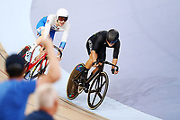 Campbell Stewart of New Zealand couldn't hold off Mark Stewart of Scotland on the final sprint at the Men's 40km Points Race Final. Gold Coast 2018 Commonwealth Games, Track Cycling, Anna Meares Velodrome, Brisbane, Australia. 8 April 2018 © Copyright Photo: Anthony Au-Yeung / www.photosport.nz /SWpix.com