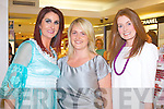 COLOUR COLLECTION: Enjoying the Amanda Brunker Friday Night Live at CH Chemist, Tralee on Friday l-r: Ann Kahraman, Caroline Corridan and Mary Keane, Ballyheigue.