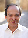 Vikram Seth Indian novelist and writer  at The Oxford Literary Festival at Christchurch College Oxford  . Credit Geraint Lewis