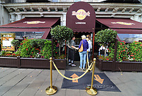 Views of Iconic London, Hotels, Fashion and Restaurants. October 8th 2018<br /> Pictured - Hard Rock Cafe<br /> CAP/ROS<br /> &copy;ROS/Capital Pictures
