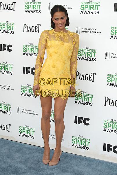 1 March 2014 - Santa Monica, California - Paula Patton. 2014 Film Independent Spirit Awards held at Santa Monica Beach. <br /> CAP/ADM/RE<br /> &copy;Russ Elliot/AdMedia/Capital Pictures
