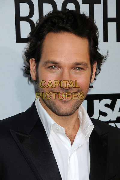 "Paul Rudd.""Our Idiot Brother"" Los Angeles Premiere held at Arclight Cinemas, Hollywood, California, USA..August 16th, 2011.headshot portrait black white stubble facial hair  .CAP/ADM/BP.©Byron Purvis/AdMedia/Capital Pictures."