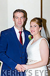 Patricia Deane, Keel daughter of Finn and June and Ger O'Shea, Keel son of Seamus and Kathleen who were married in a civil ceremony in the Muckross Park Hotel on Friday
