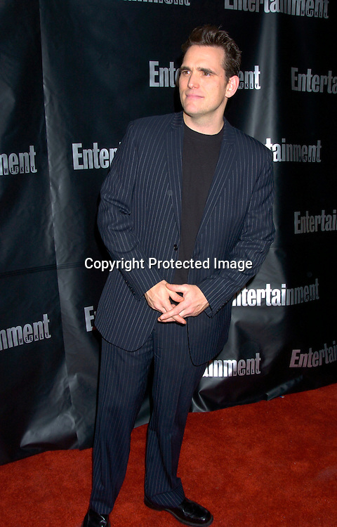 Matt Dillon..at the Entertainment Weekly 10th annual Oscar Party on ..February 29, 2004 at Elaine's in New YOrk City. Photo by Robin Platzer, Twin Images