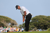 Tiger Woods (USA) takes his putt on the 7th green during Saturday's Round 3 of the 94th PGA Golf Championship at The Ocean Course, Kiawah Island, South Carolina, USA 10th August 2012 (Photo Eoin Clarke/www.golffile.ie)
