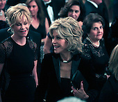 Jane Fonda at the reception in the East Room of the White House in Washington, D.C. for the  37th Kennedy Center Honorees on Sunday, December 7, 2014.<br /> Credit: Dennis Brack / Pool via CNP