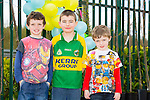 Enjoying the Easter Sunday family fun day at Ballyseedy garden centre were Aaron Horgan from Ballyheigue, Shane Corossan from Ballyseedy and Kevin Horgan from Ballyheigue