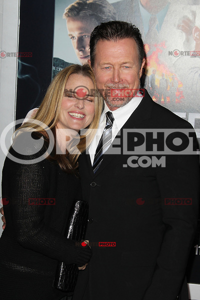 HOLLYWOOD, CA - JANUARY 07:  Barbara Patrick and Robert Patrick at the Gangster Squad film premiere at Grauman's Chinese Theatre on January 7, 2013 in Hollywood, California. Credit: mpi27/MediaPunch Inc. /NortePhoto /NortePhoto /NortePhoto /NortePhoto