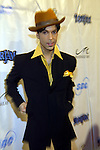 5/29/04,LAS VEGAS,NEVADA --- Prince arrives at the 7th Annual TigerJam at the Mandalay Bay Resort. --- Chris Farina